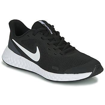 Scarpe Unisex bambino Multisport Nike REVOLUTION 5 GS Nero / Bianco
