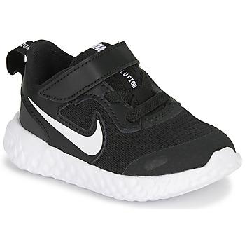 Scarpe Unisex bambino Multisport Nike REVOLUTION 5 TD Nero / Bianco
