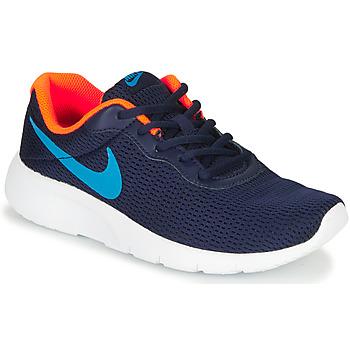 Scarpe Bambino Sneakers basse Nike TANJUN GS Blu