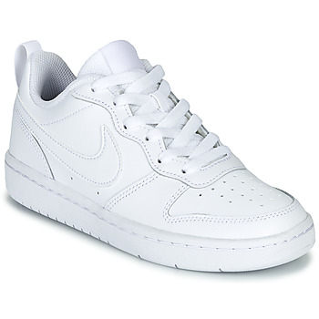 Scarpe Unisex bambino Sneakers basse Nike COURT BOROUGH LOW 2 GS Bianco