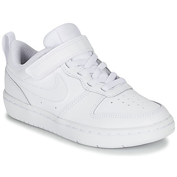 Scarpe Unisex bambino Sneakers basse Nike COURT BOROUGH LOW 2 PS Bianco