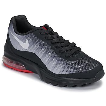 Scarpe Unisex bambino Sneakers basse Nike AIR MAX INVIGOR GS Nero / Rosso