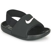 Scarpe Unisex bambino ciabatte Nike KAWA TD Nero