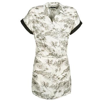 Abbigliamento Donna Abiti corti Volcom VACAY ME SS DRESS Bianco