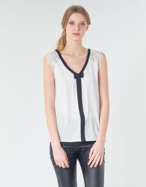 Abbigliamento Donna Top / Blusa Naf Naf CORAZON Bianco