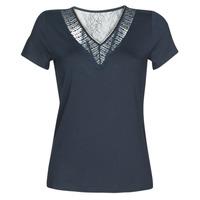 Abbigliamento Donna T-shirt maniche corte Morgan DOHAN Marine