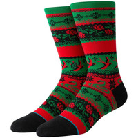 Accessori Uomo Calzini Stance Stocking stuffer crew Verde