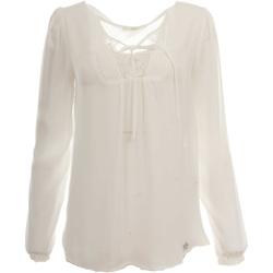 Abbigliamento Donna Top / Blusa Gaudi 921BD45007 2113-UNICA - Blusa  Bianco