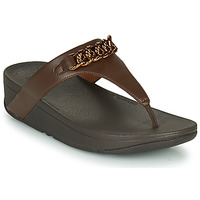 Scarpe Donna Infradito FitFlop LOTTIE CHAIN TOE-THONGS Marrone