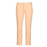 Abbigliamento Donna Pantaloni 5 tasche Freeman T.Porter LOREEN NEW MAGIC COLOR Rosa corallo