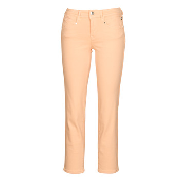 Abbigliamento Donna Pantaloni 5 tasche Freeman T.Porter LOREEN NEW MAGIC COLOR Rosa corallo
