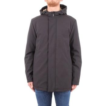 Abbigliamento Uomo giacca a vento Brekka brfw0056 Nero