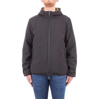 Abbigliamento Uomo giacca a vento Brekka brfw0055 Nero