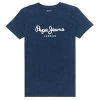 Abbigliamento Bambino T-shirt maniche corte Pepe jeans ART Marine