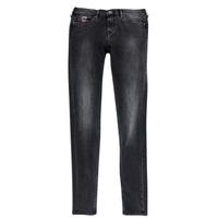 Abbigliamento Bambina Jeans slim Pepe jeans PAULETTE Nero