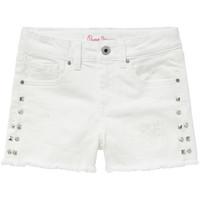 Abbigliamento Bambina Shorts / Bermuda Pepe jeans ELSY Bianco