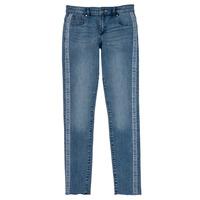 Abbigliamento Bambina Jeans skynny Guess GABIN Blu