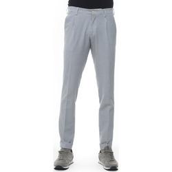 Abbigliamento Uomo Pantaloni Angelo Nardelli Pantalone modello chino Blu Cotone Uomo blu