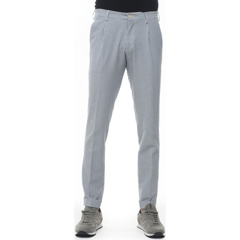 Abbigliamento Uomo Pantaloni Angelo Nardelli 1366-B373653 Blu