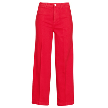 Abbigliamento Donna Jeans bootcut Tommy Hilfiger BELL BOTTOM HW CCLR Rosso
