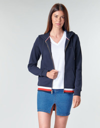 Abbigliamento Donna Felpe Tommy Hilfiger HERITAGE ZIP THROUGH HOODIE Marine