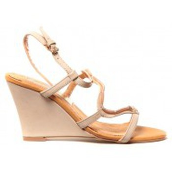 Scarpe Donna Sandali Cassis Côte d'Azur Chaussures Alefe Taupe Marrone