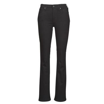 Abbigliamento Donna Jeans bootcut Levi's 725 HIGH RISE BOOTCUT Black