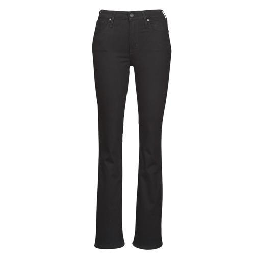 Abbigliamento Donna Jeans bootcut Levi's 725 HIGH RISE BOOTCUT Nero