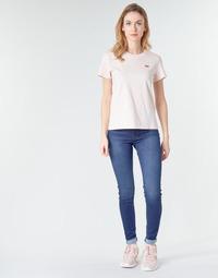 Abbigliamento Donna Jeans skynny Levi's 720 HIRISE SUPER SKINNY Echo / Storm