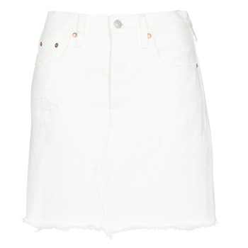 Abbigliamento Donna Gonne Levi's HR DECON ICONIC BF SKIRT White