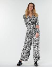 Abbigliamento Donna Tuta jumpsuit / Salopette Only ONLOPHELIA Nero / Bianco