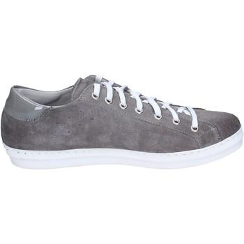 Scarpe Uomo Sneakers Ossiani sneakers camoscio grigio