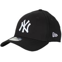 Accessori Cappellini New-Era LEAGUE BASIC 39THIRTY NEW YORK YANKEES Nero / Bianco