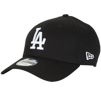 Accessori Cappellini New-Era LEAGUE ESSENTIAL 9FORTY LOS ANGELES DODGERS Nero / Bianco