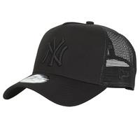 Accessori Cappellini New-Era CLEAN TRUCKER NEW YORK YANKEES Nero