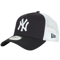 Accessori Cappellini New-Era CLEAN TRUCKER NEW YORK YANKEES Marine / Bianco