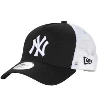 Accessori Cappellini New-Era CLEAN TRUCKER NEW YORK YANKEES Nero / Bianco