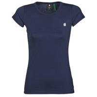 Abbigliamento Donna T-shirt maniche corte G-Star Raw EYBEN SLIM R T WMN SS Blu