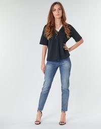 Abbigliamento Donna Jeans dritti G-Star Raw 3301 HIGH STRAIGHT 90'S ANKLE WMN Blu
