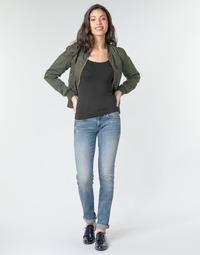 Abbigliamento Donna Jeans dritti G-Star Raw MIDGE MID STRAIGHT WMN Blu