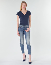Abbigliamento Donna Jeans skynny G-Star Raw ARC 3D MID SKINNY WMN Blu