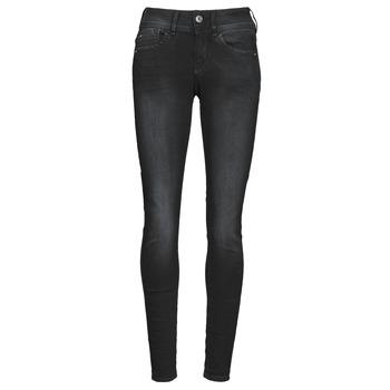 Abbigliamento Donna Jeans skynny G-Star Raw LYNN MID SKINNY WMN Grigio