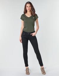 Abbigliamento Donna Jeans skynny G-Star Raw MIDGE CODY MID SKINNY WMN Nero