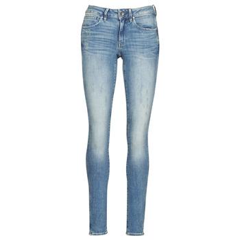 Abbigliamento Donna Jeans skynny G-Star Raw MIDGE ZIP MID SKINNY WMN Blu