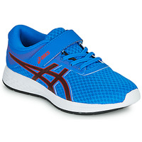 Scarpe Unisex bambino Running / Trail Asics PATRIOT 11 PS Blu