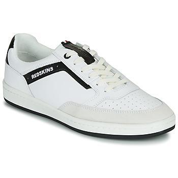 Scarpe Uomo Sneakers basse Redskins YELLE Bianco / Nero