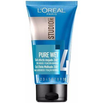 Bellezza Maschere &Balsamo L'oréal Studio Line Pure Wet Gel Efecto Mojado