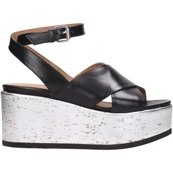 Scarpe Donna Sandali Janet Sport - Sandalo nero 41830 Multicolore