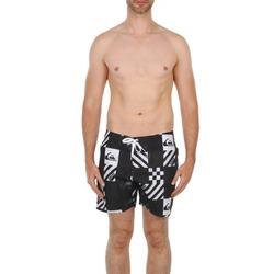 Abbigliamento Uomo Costume / Bermuda da spiaggia Quiksilver ATOMIC 16 BS Nero / Bianco