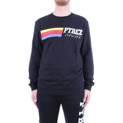 Abbigliamento Uomo Felpe Pyrex 19IPB40365 Nero